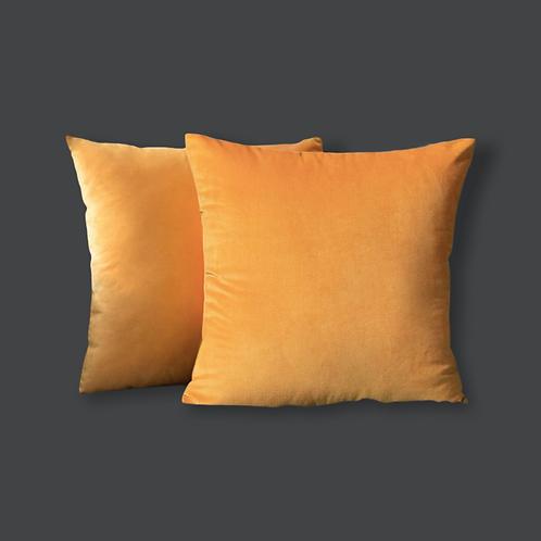 Golden Velvet Pillow Cover