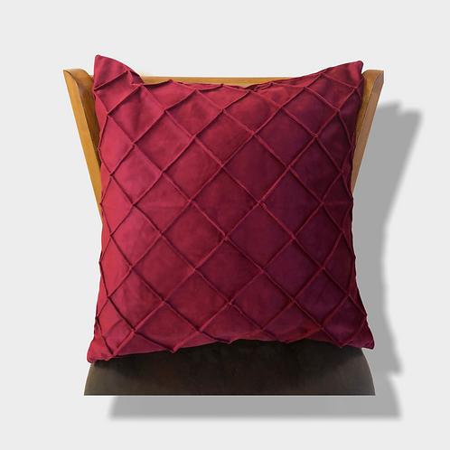 Ruby Red Velvet Pillow Cover