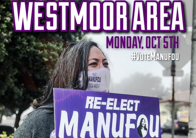 Sign Waving at Westmoor