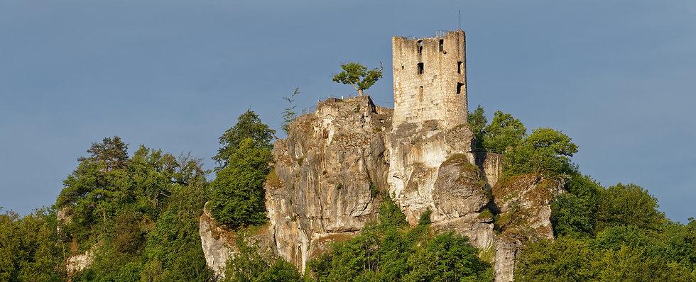 Ruine Neideck in Streitberg