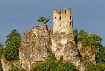 Ruine Neideck - Streitberg