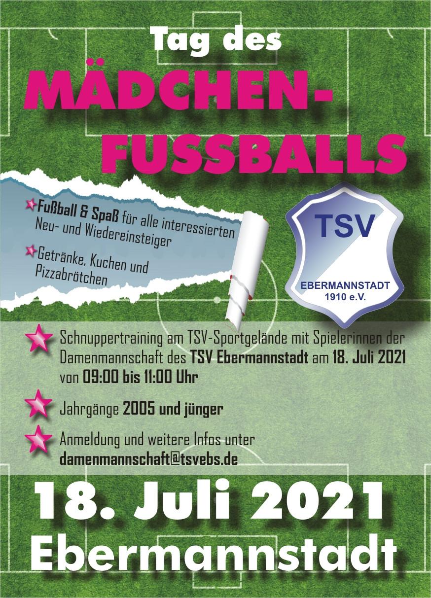 Tag des Mädchenfußballs beim TSV Ebermannstadt