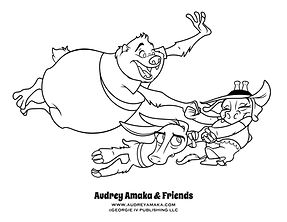 Audrey and friends coloring.jpg