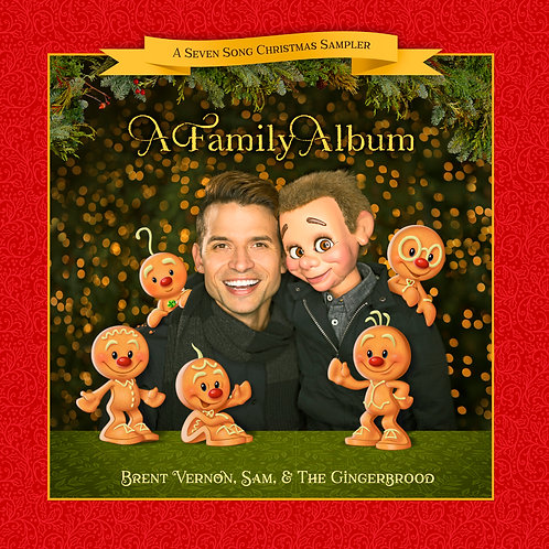 """A Family Album"" Christmas EP (7 Songs)"