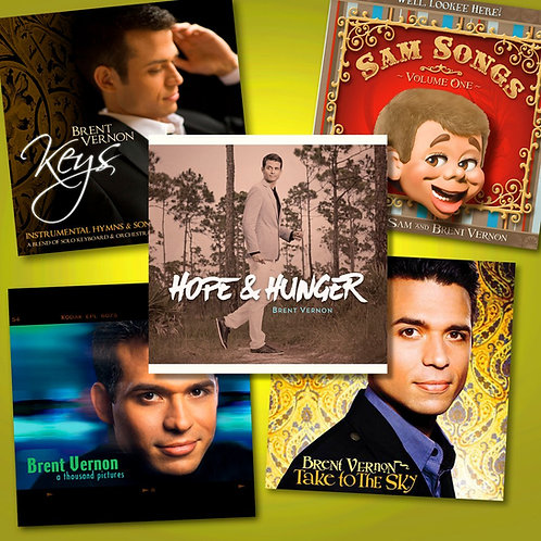 Package Deal: 5 CDs for $40!