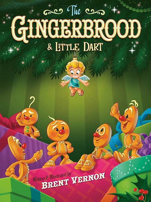 The Gingerbrood & Little Dart (with Read Along CD)