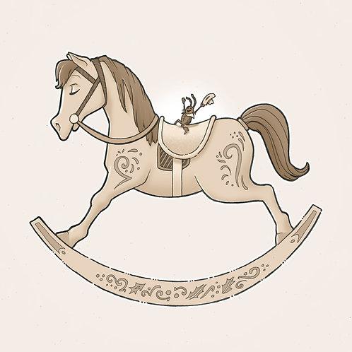 Countdown Art: Ride 'Em, Cowbug! (Signed Print)