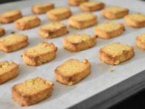 気を取り直して。白味噌クッキー試作