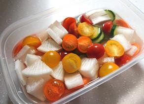 【レシピ】自家製ピクルス(甜菜糖使用)