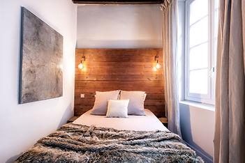 chambre pour un gite photographie immobilière