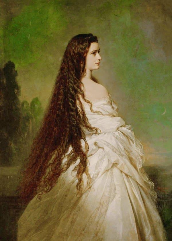 """Sissi disait souvent : """"Je suis esclave de mes cheveux"""""""