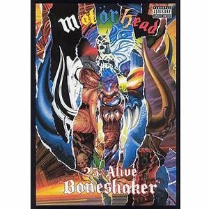 MOTORHEAD - 25 & Alive Boneshaker (DVD)
