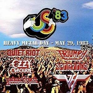 (Video) CLASSIC CONCERTS: US FESTIVAL (Van Halen, Scorpions, Triumph, Judas Priest, Ozzy Osbourne, M