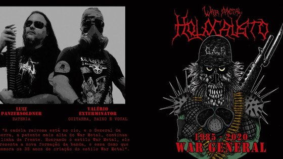 DEMO/EP ROUNDUP - Sarcator and Holocausto War Metal