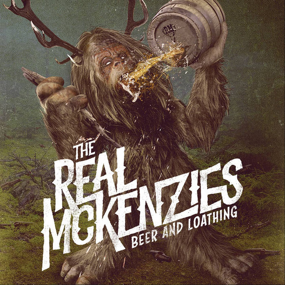 (Celtic Punk) THE REAL MCKENZIES - Beer and Loathing album review