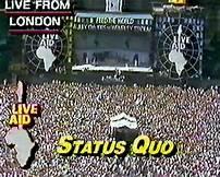 STATUS QUO - Live Aid