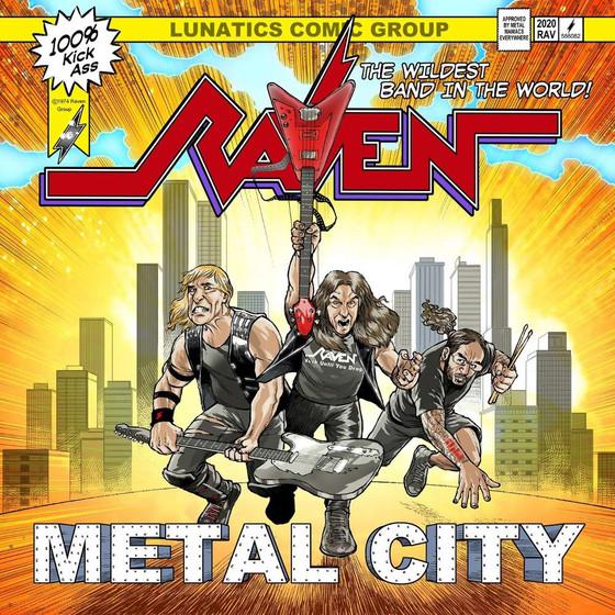 (Speed) RAVEN - Metal City album review