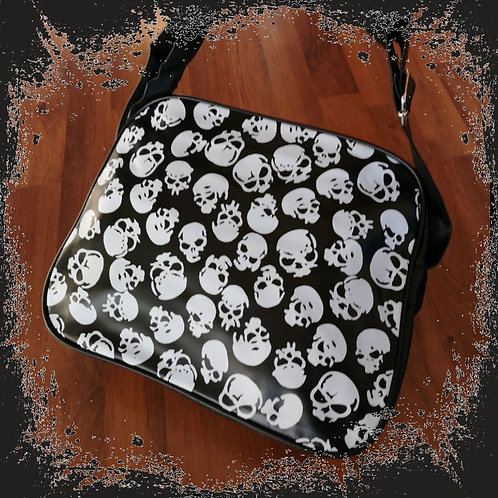 "College shoulder bag ""Skull"""
