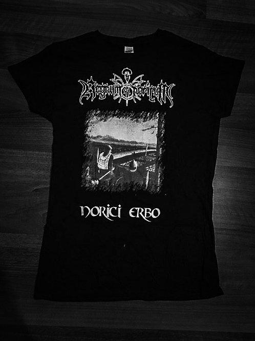 Regnum Noricum - Norici Erbo Girlie T-Shirt (Schwarz)