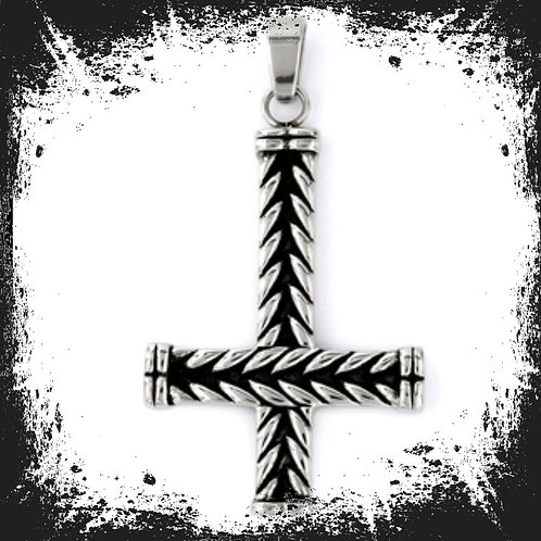 Kreuz Anhänger Edelstahl