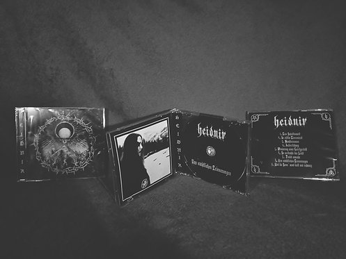 HEIDNIR Album - Of nocturnal memories