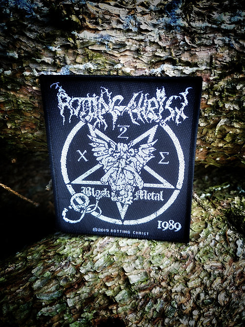 Aufnäher/Patch - Rotting Christ  Black Metal