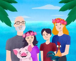 Commission - Family Portrait