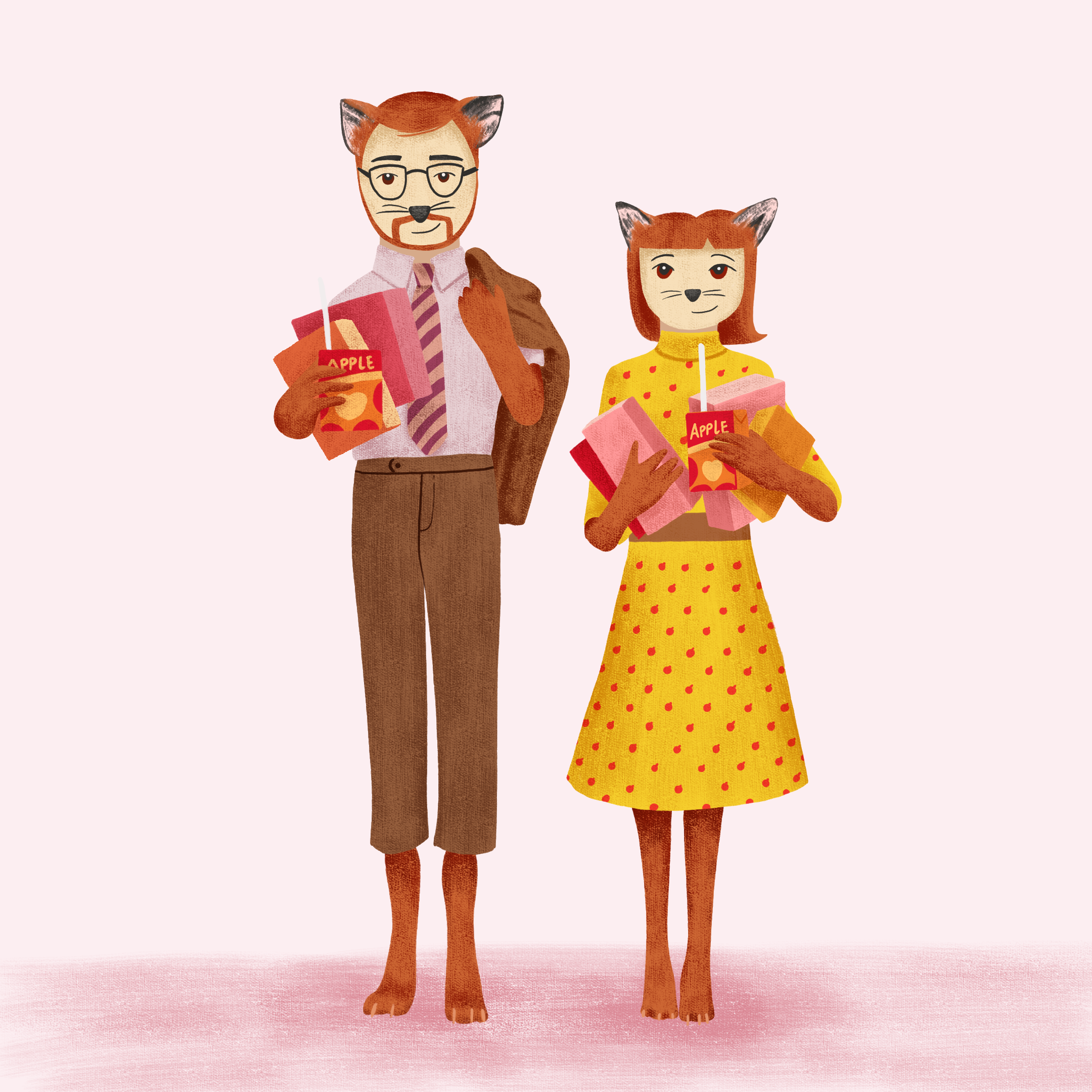Mr & Mrs Fox Fan Art