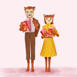 Mr & Mrs Fox Fan Art