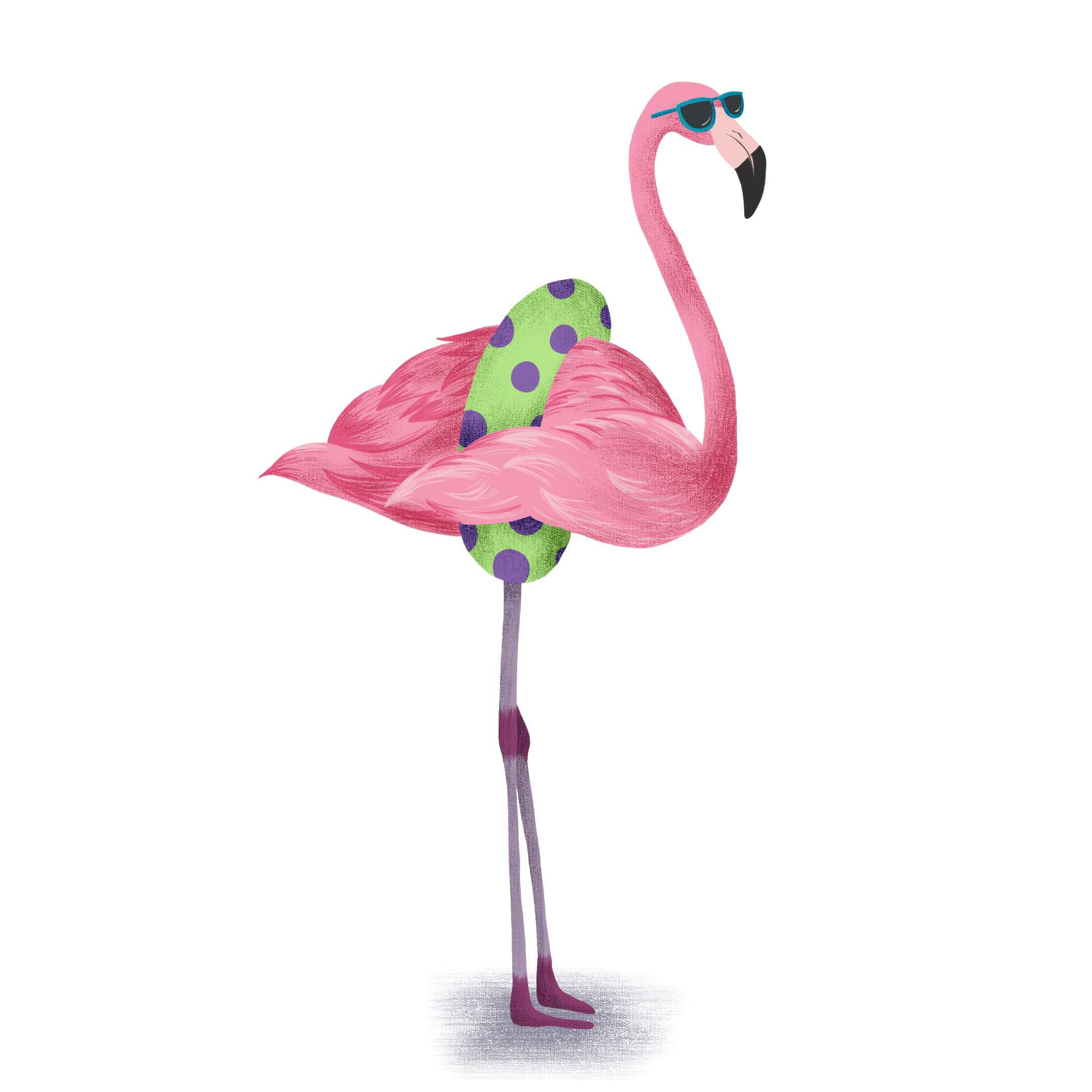 Ready for Summer Flamingo