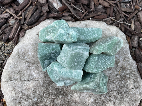 Aventurine -Rough 8pcs.