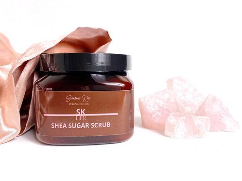 SK HER Shea Sugar Scrub -16 oz.