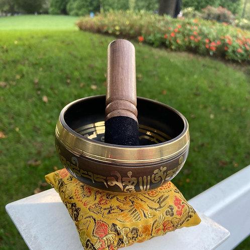 """Tibetan Singing Bowl 4"""""""