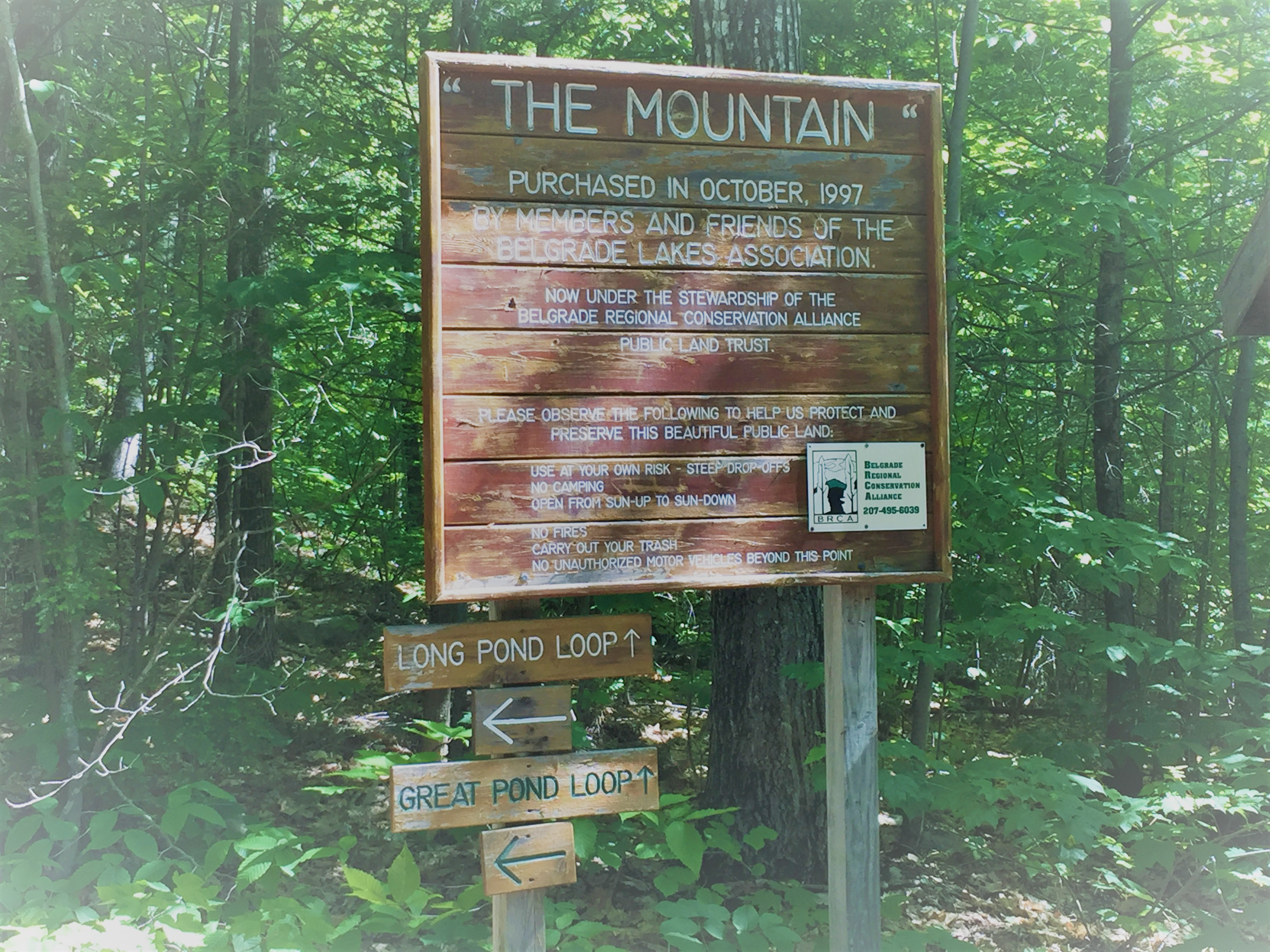 The Mountain Sign