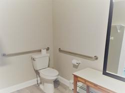 Bathroom in hallway