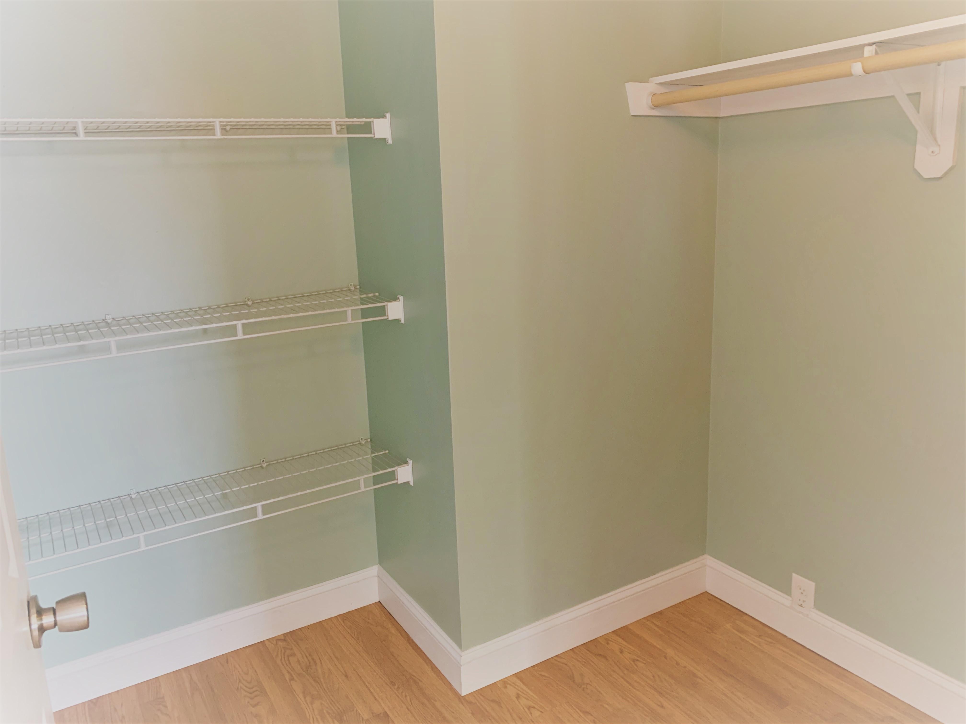 Walk-in closet for bedroom 1