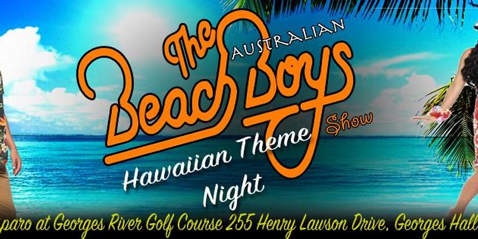 Hawaiian Theme Night at Gasparo with The Australian Beach Boys!