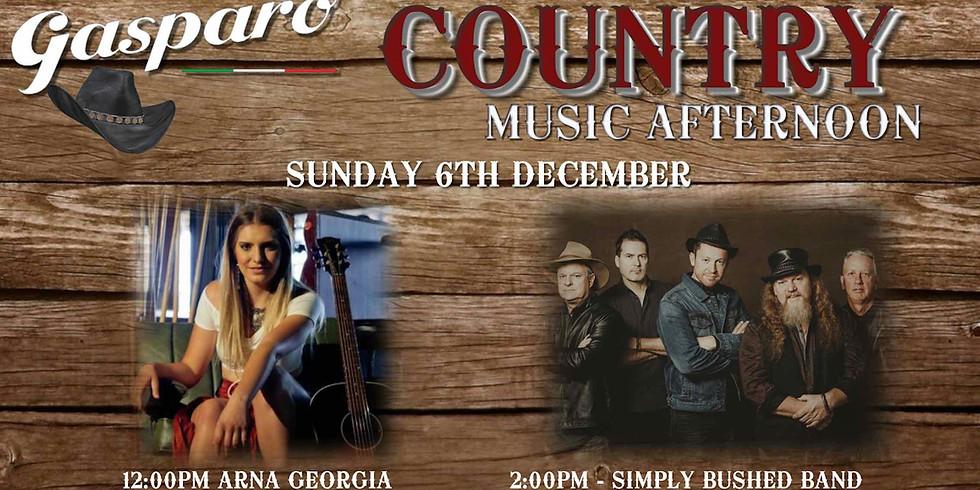 Country Sunday at Gasparo (4.30pm-8.30pm)