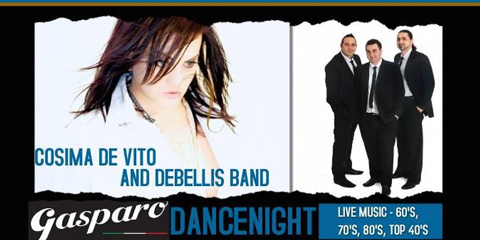 Gasparo Dance Night with Cosima De Vito & Debellis Band