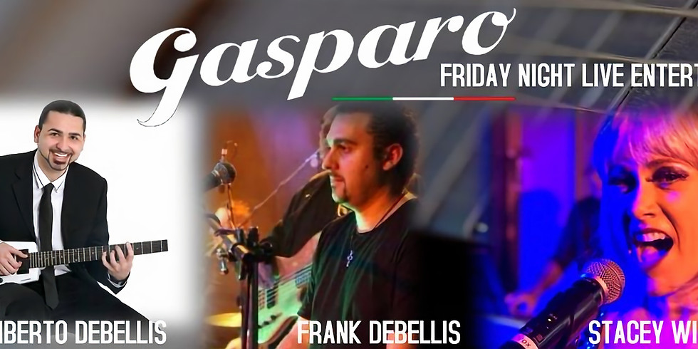 Friday night live at Gasparo