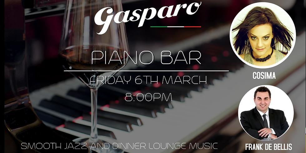 Piano Bar at Gasparo.
