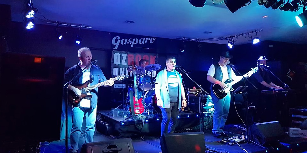 NYE Party at Gasparo with the OZ ROCK UNLIMITED