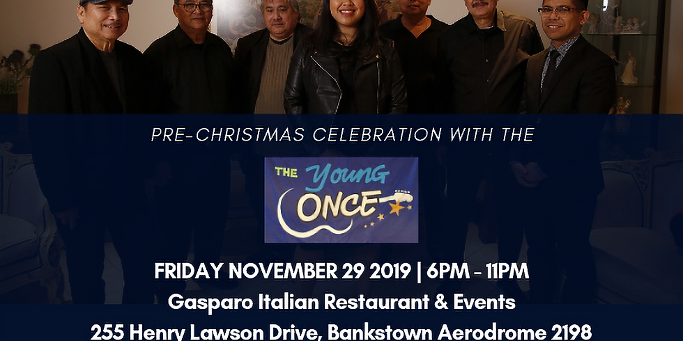The Young Once Christmas party at Gasparo