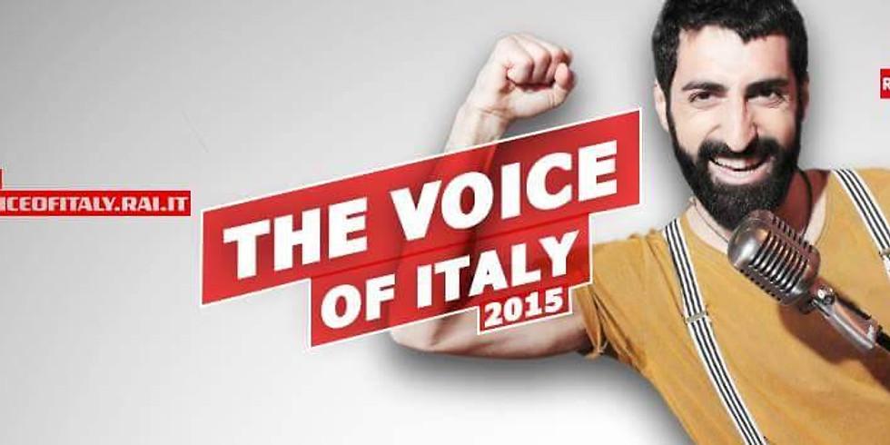 Fabio curto Winner of The Voice of Italy at Gasparo!