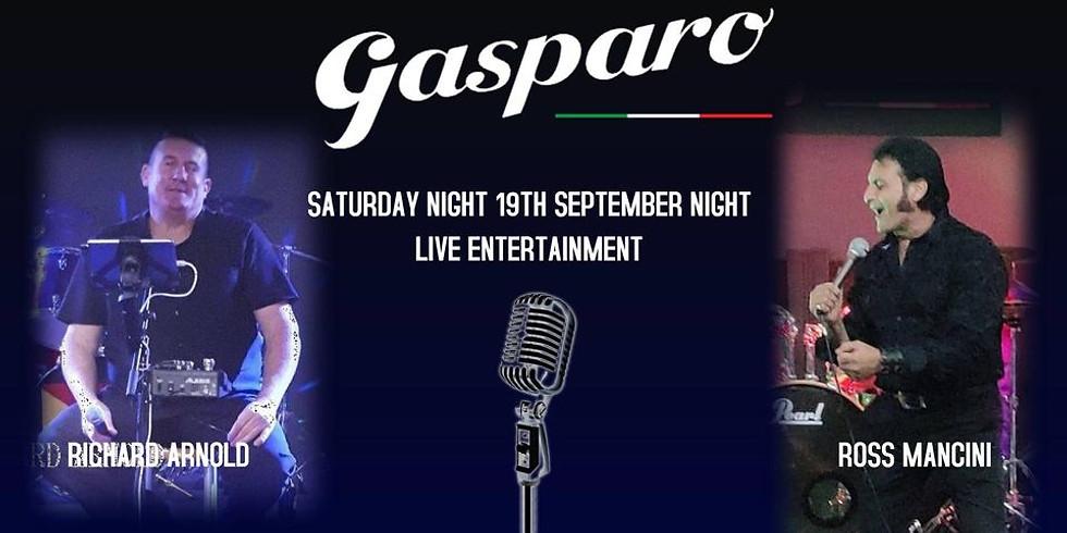 Saturday Night Melodies at Gasparo