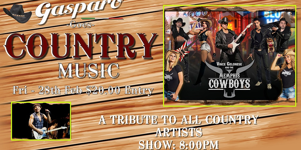 The best of Country music at Gasparo.