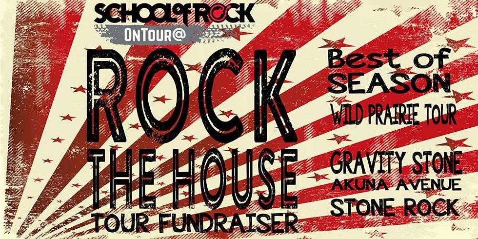 School of ROCK - Rock the house fundraiser