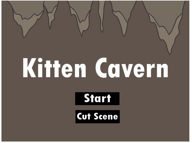 Kitten Cavern Screenshot