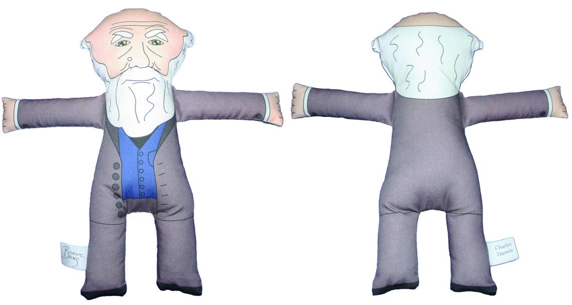Charles Darwin Plush Doll