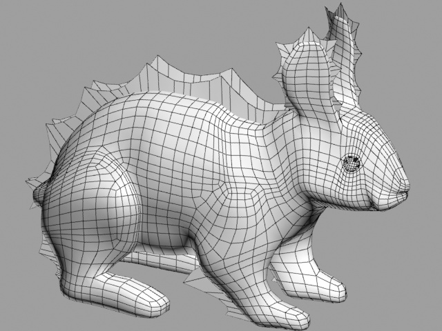 Robo Hare? Wireframe